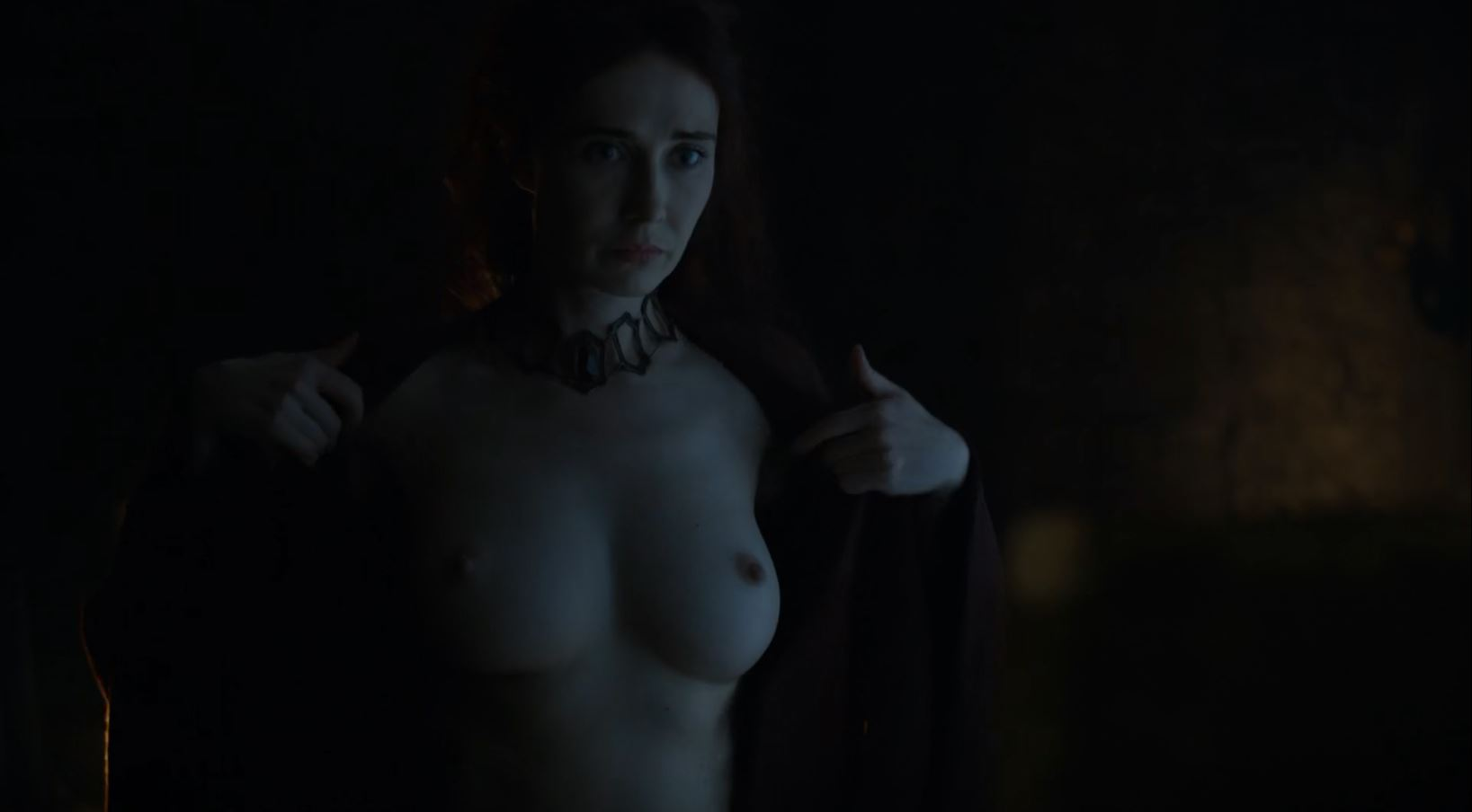 Melisandre nude tits. Game Of Thrones S6Ep1 The Red Woman Review