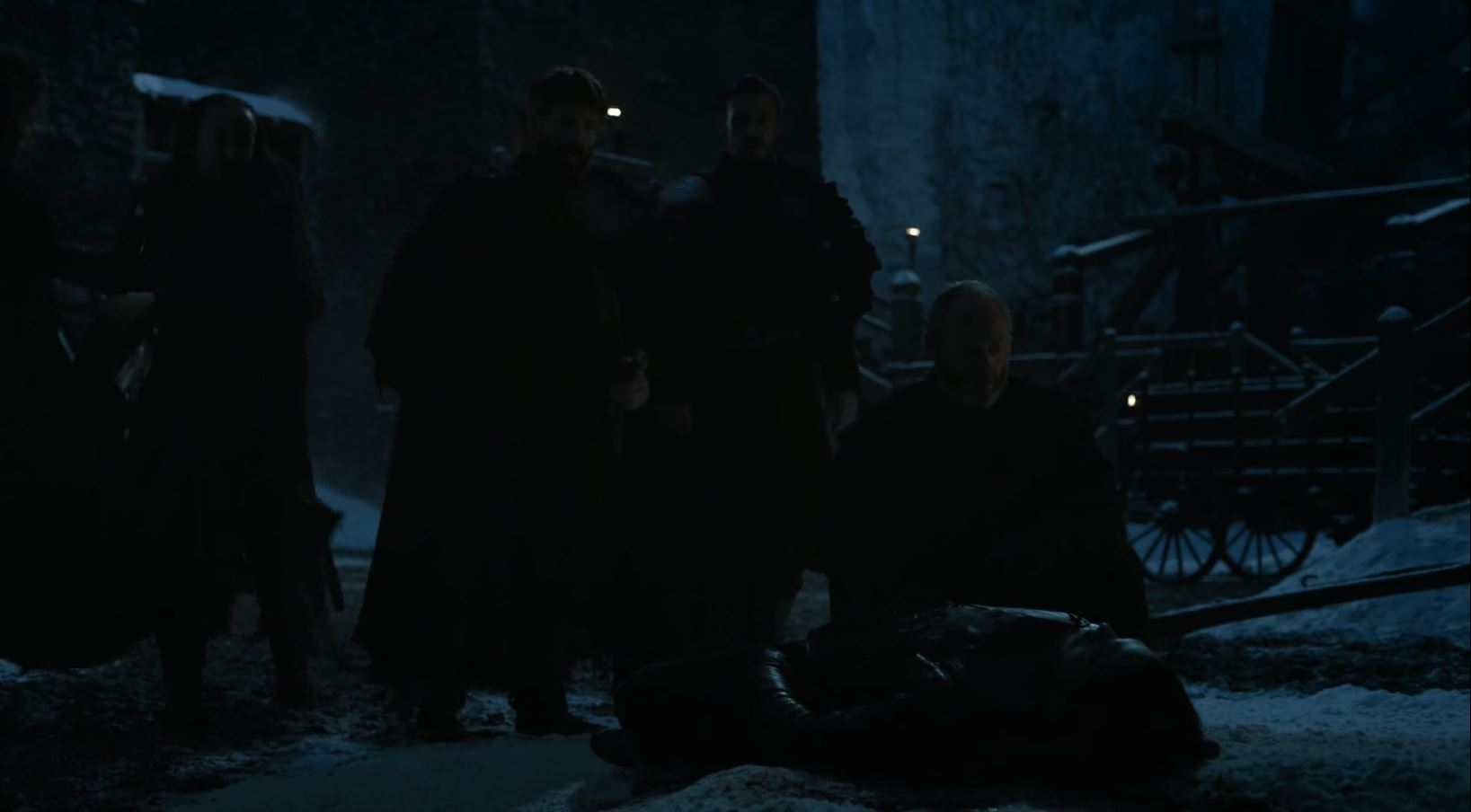 Ser Daavos finds Jon Snow dead. Game Of Thrones S6Ep1 The Red Woman Review