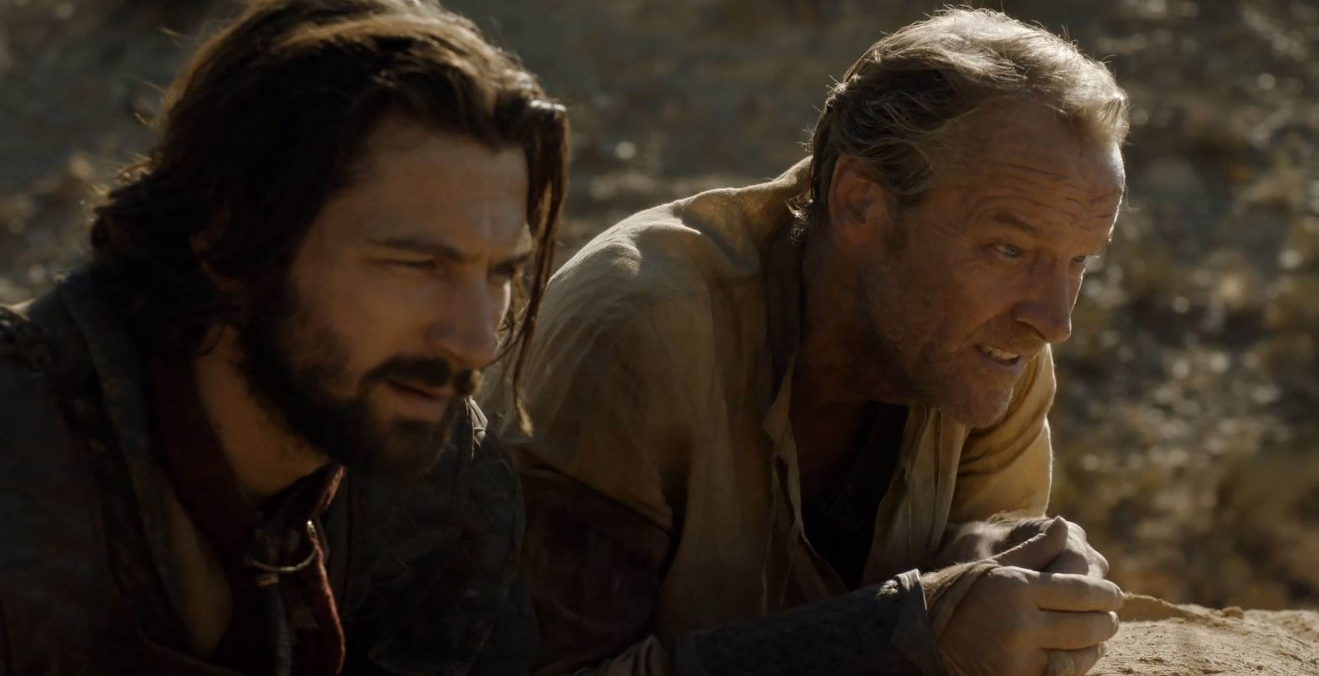Daario and Jorah plan to rescue Daenerys. Game Of Thrones S6Ep4 Book of the Stranger Review