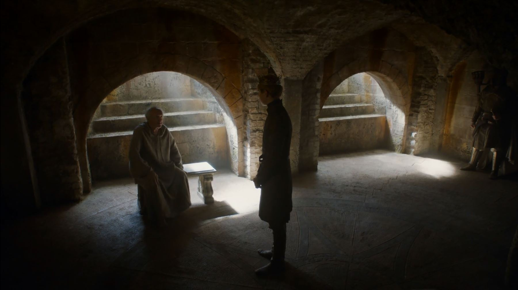 Tommen talks to the High Sparrow. Game Of Thrones S6Ep3 Oathbreaker Review