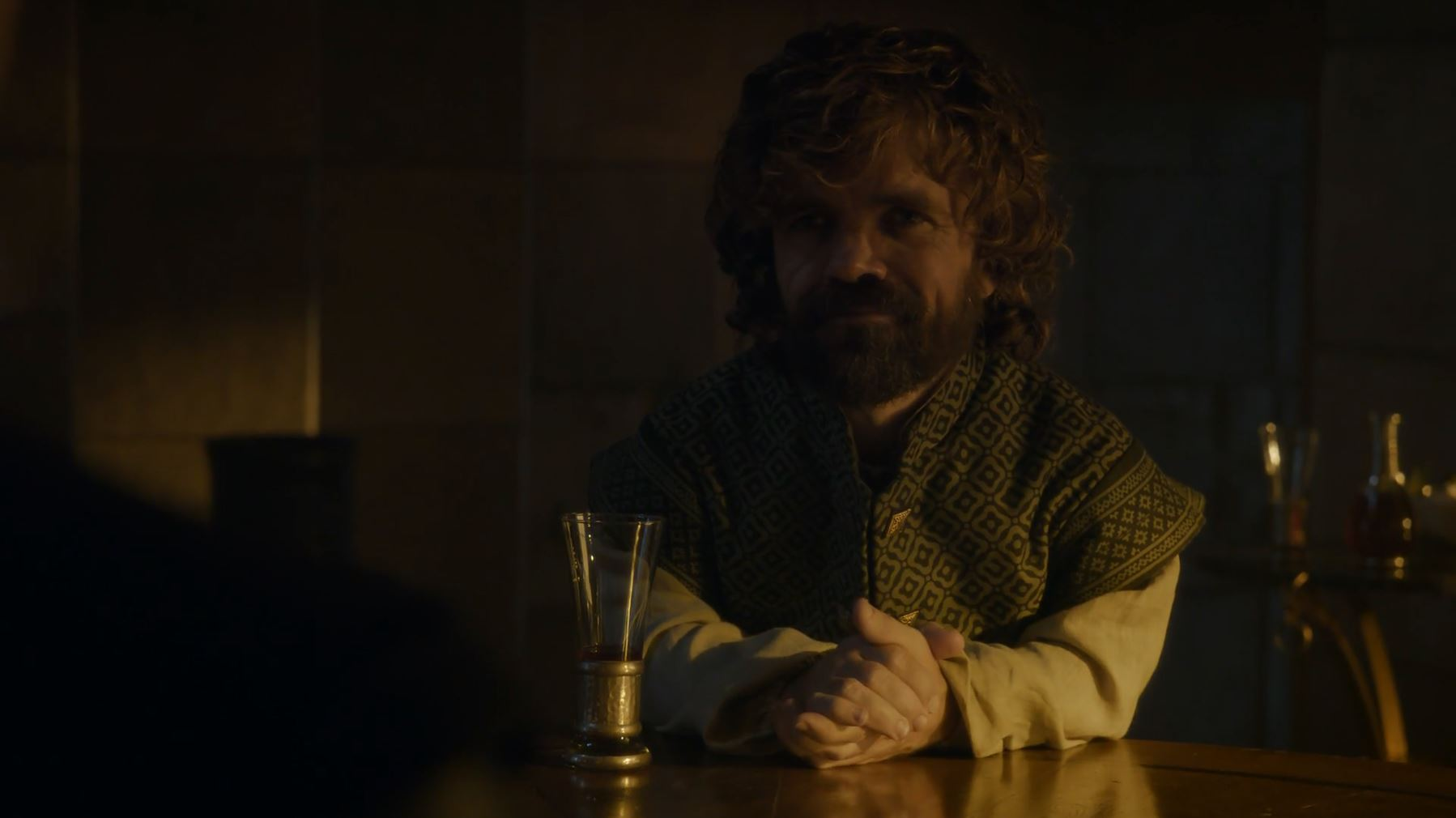 Tyrion wants to do a drinking game. Game Of Thrones S6Ep3 Oathbreaker Review