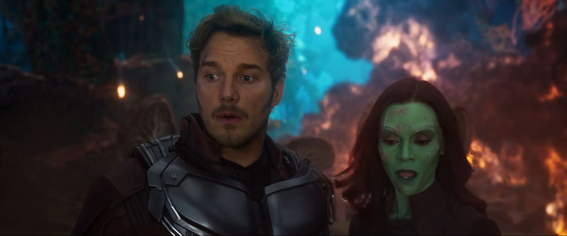 Guardians of the Galaxy Vol. 2 - Star-Lord and Gamora - Super Bowl Trailers