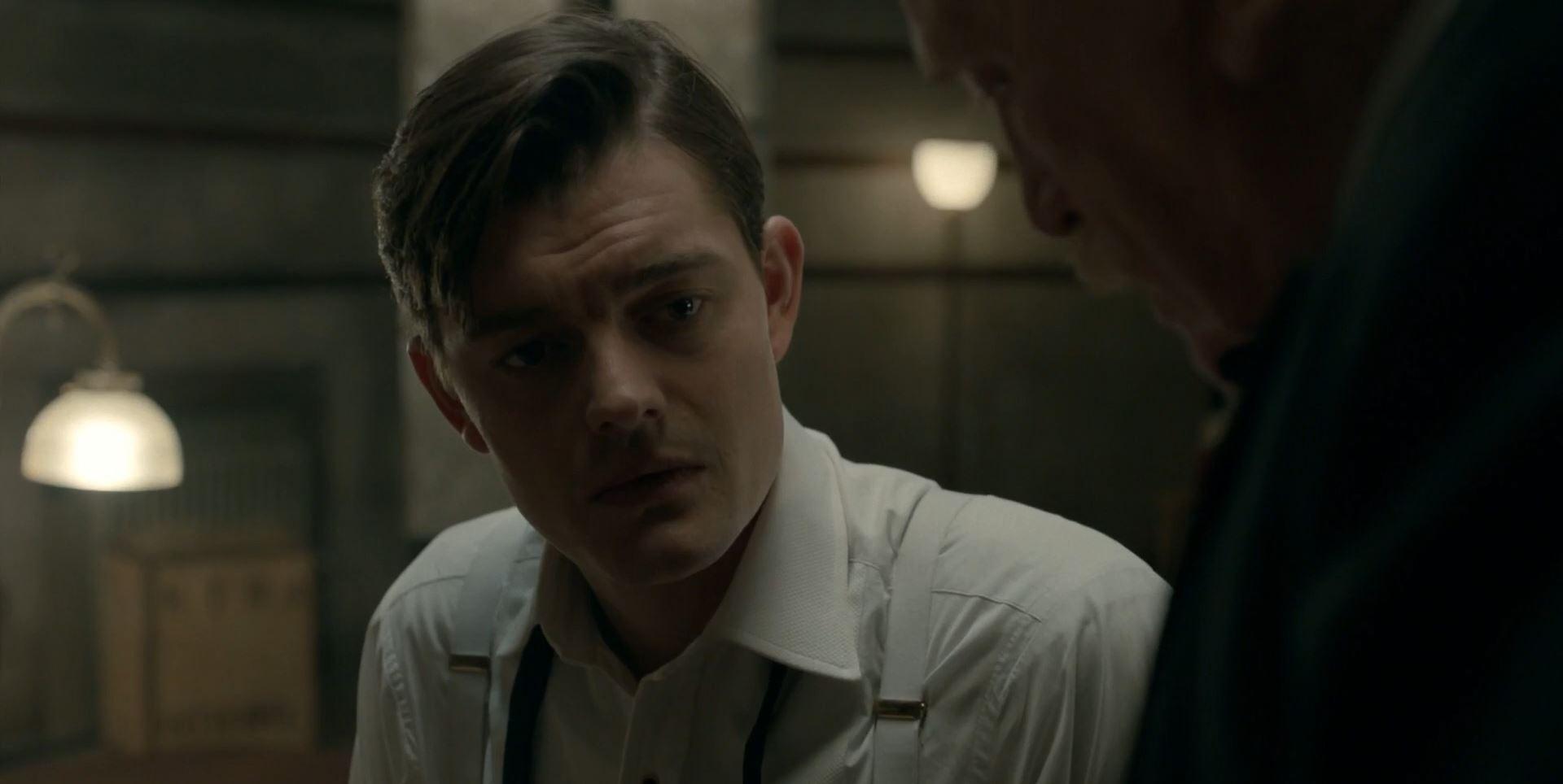 SS-GB Sam Riley as Douglas Archer