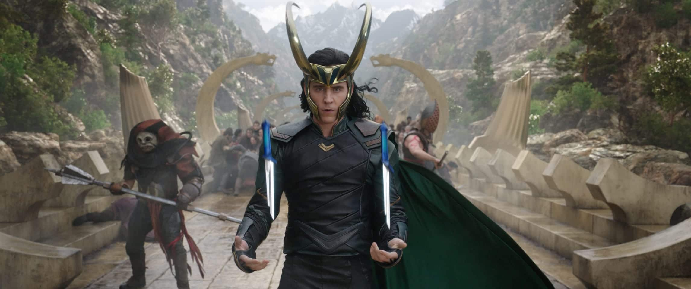 Thor Ragnarok - Tom Hiddleston as Loki