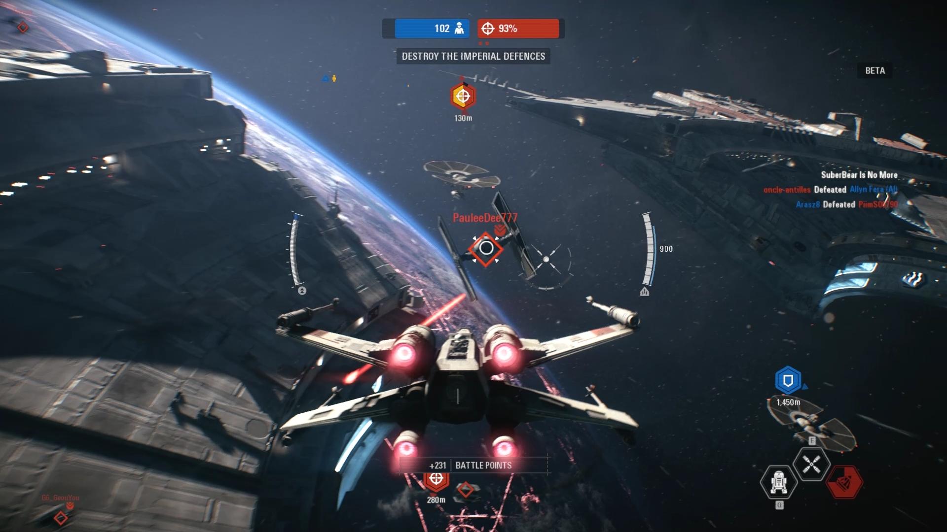 Battlefront-2 X-wing fondor