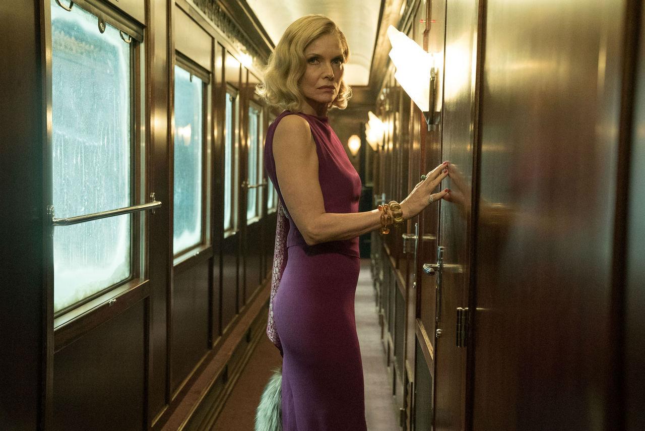 Michelle Pfeiffer Murder on the Orient Express