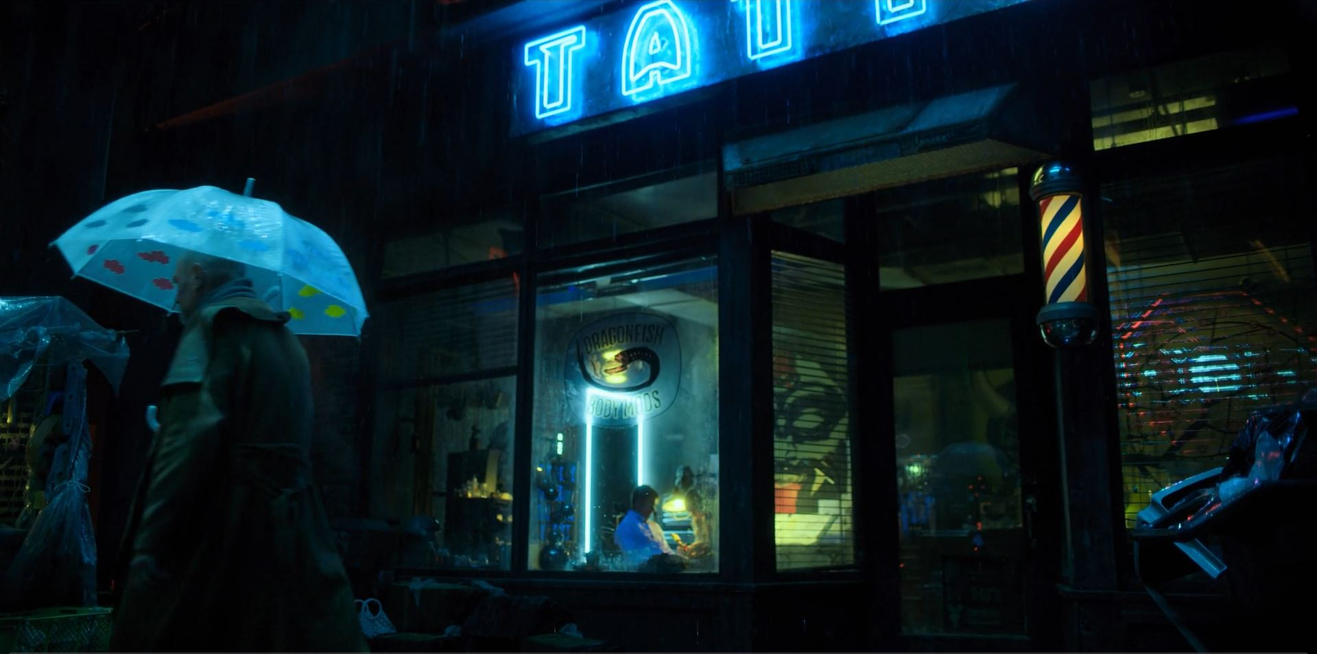 Altered Carbon - Tattoo parlor