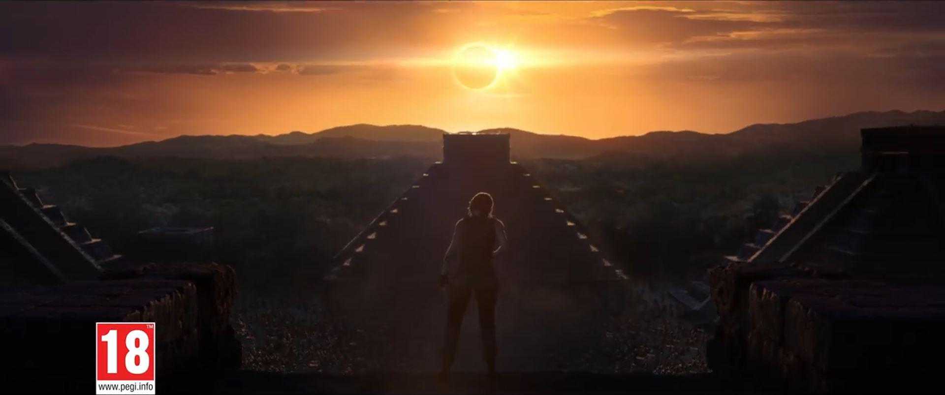 Shadow of the Tomb Raider - Mayan pyramid