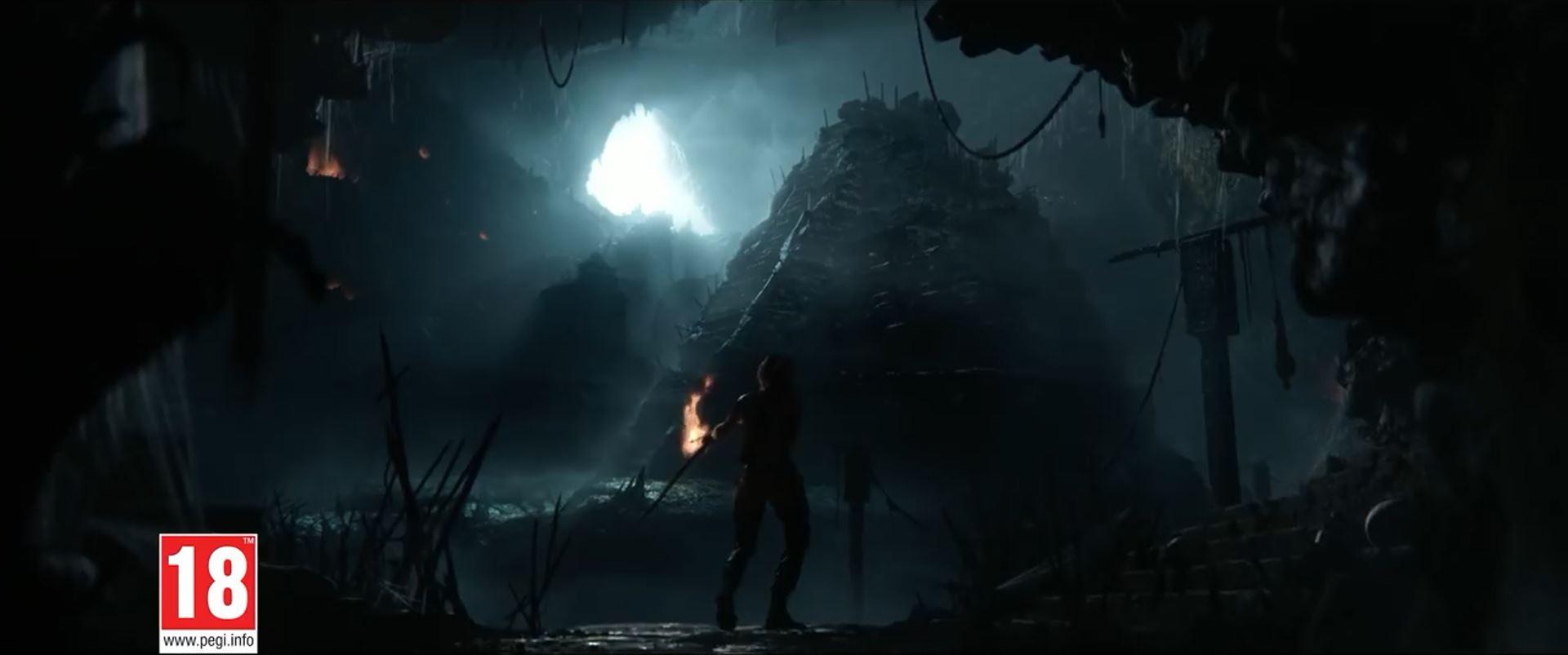 Shadow of the Tomb Raider - underground pyramid