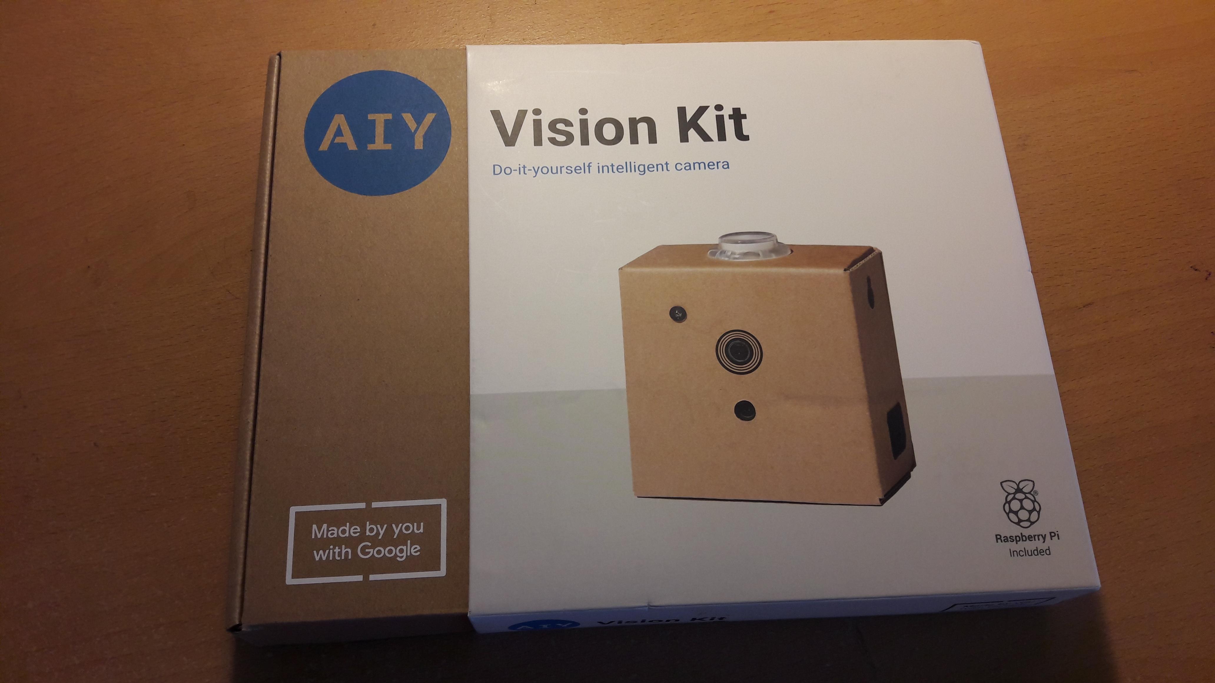 Vision Kit box front