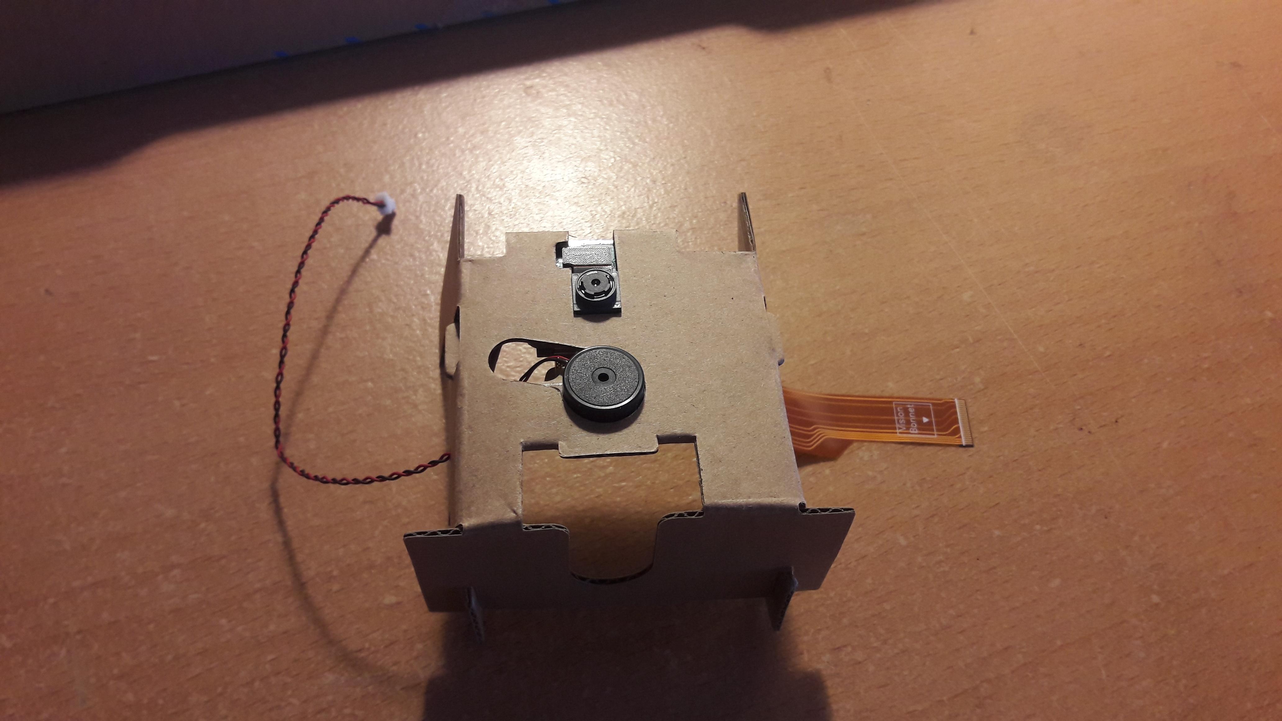 Vision Kit camera insert