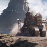 Mortal Engines - London chasing a city