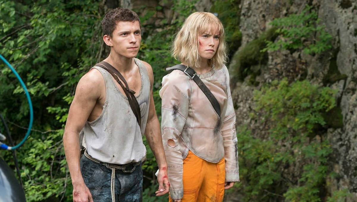 Chaos Walking with Tom Holland Daisy Ridley