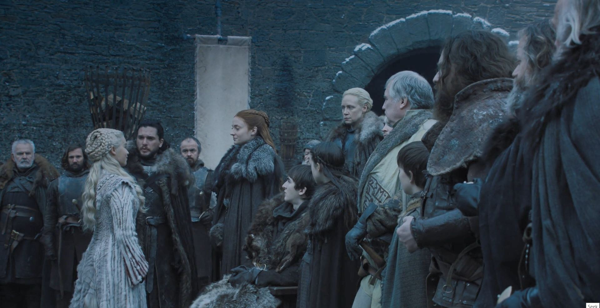 Game of Thrones S08E01 Winterfell Review - Dany meets the Stark family