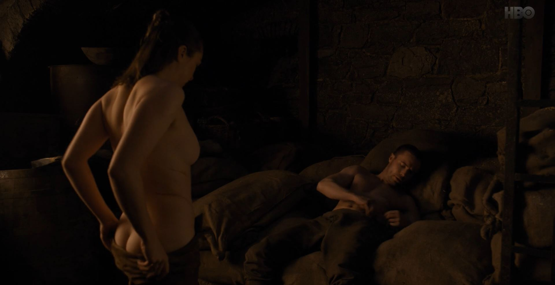 Game of Thrones S08E02 A Knight of the Seven Kingdoms Review - Arya nude about to have sex with Gendry