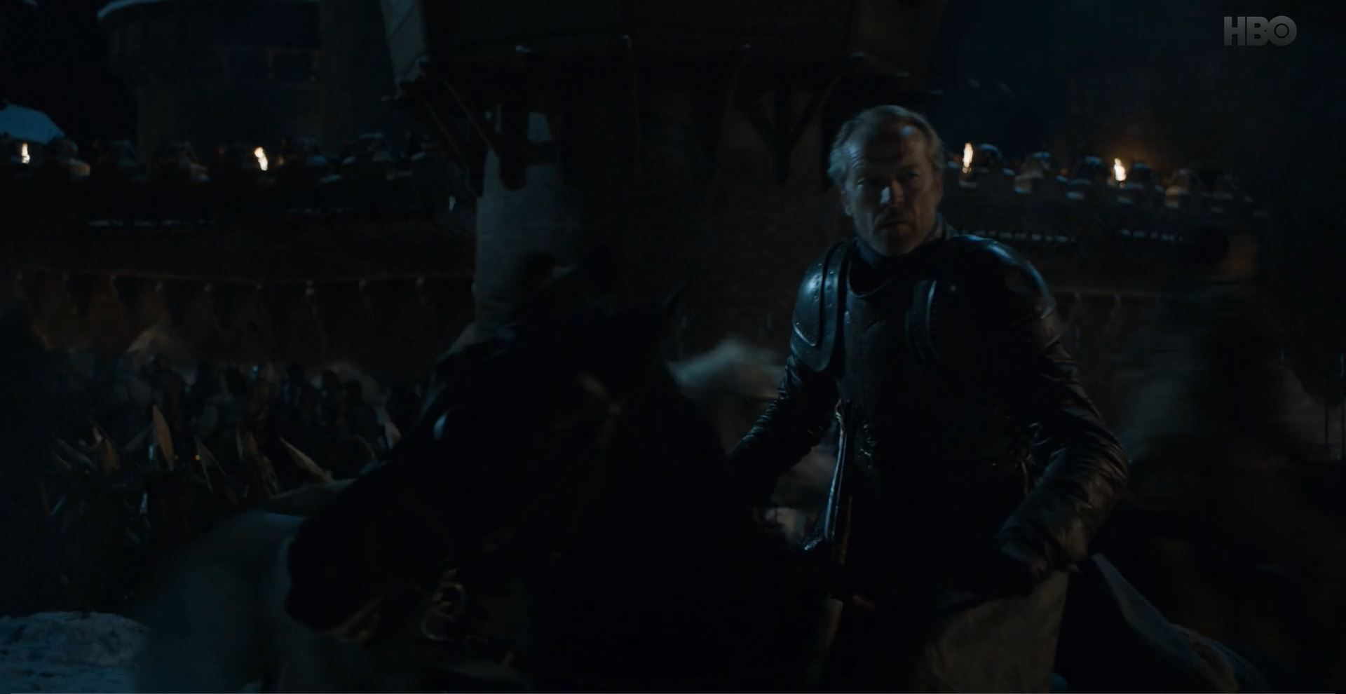 Game of Thrones S08E02 A Knight of the Seven Kingdoms Review - Ser Jorah Mormont prepares for battle