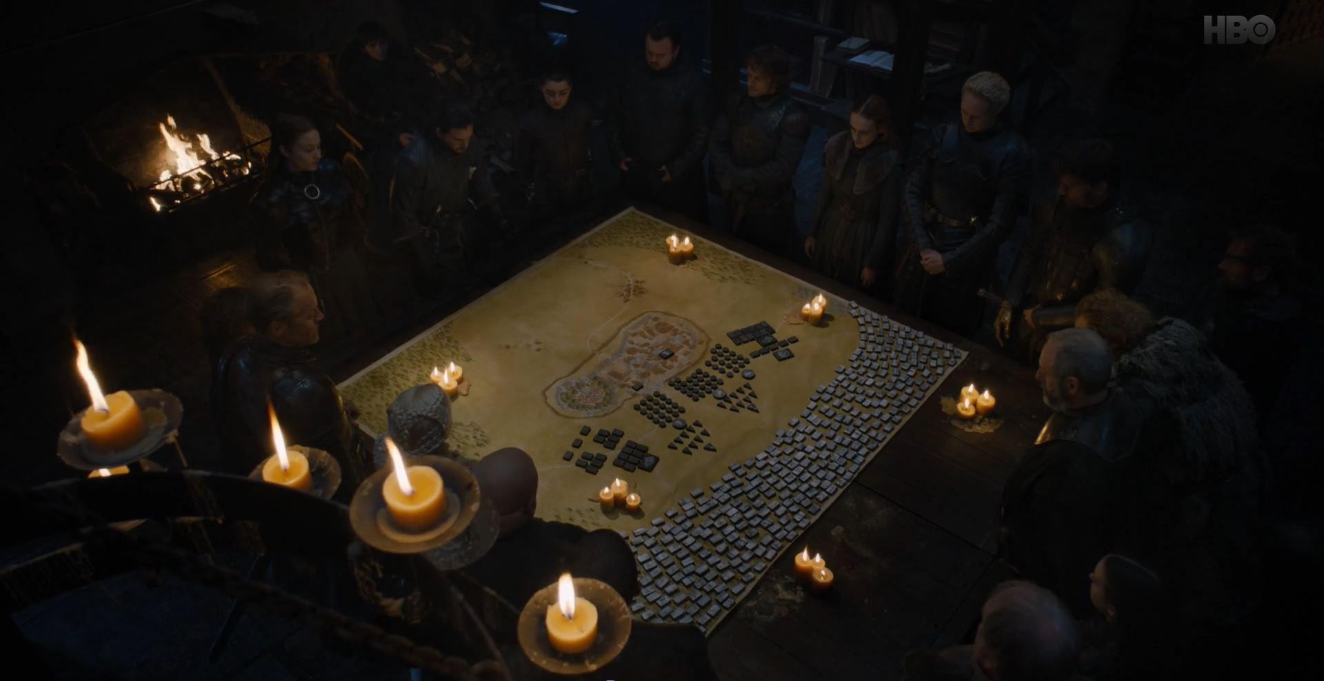 Game of Thrones S08E02 A Knight of the Seven Kingdoms Review - The war council