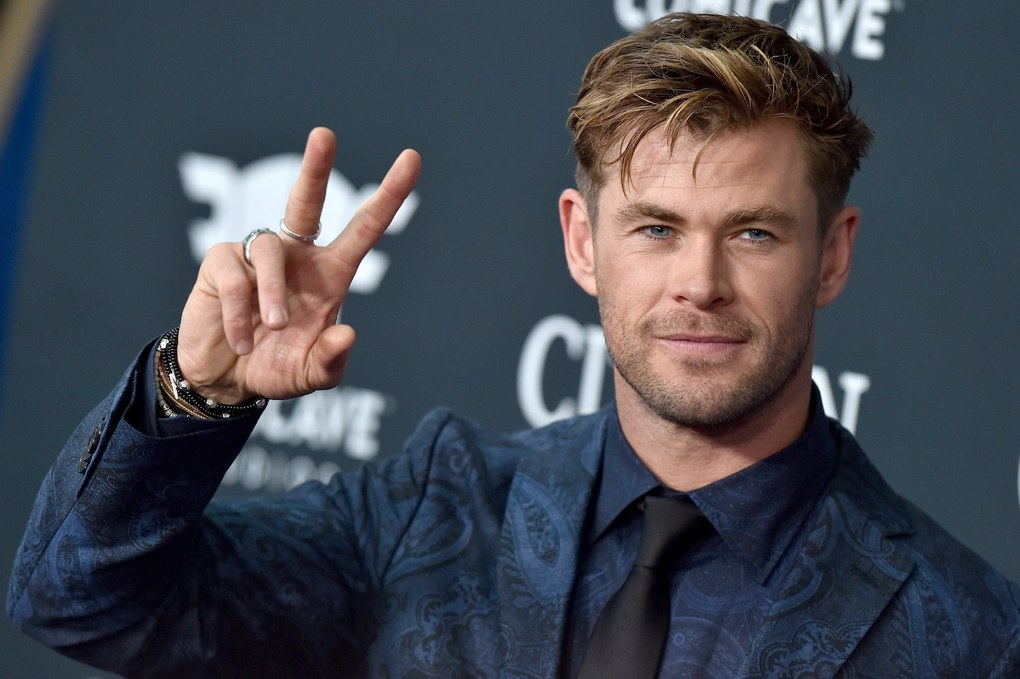 Chris Hemsworth at Avengers Endgame premiere