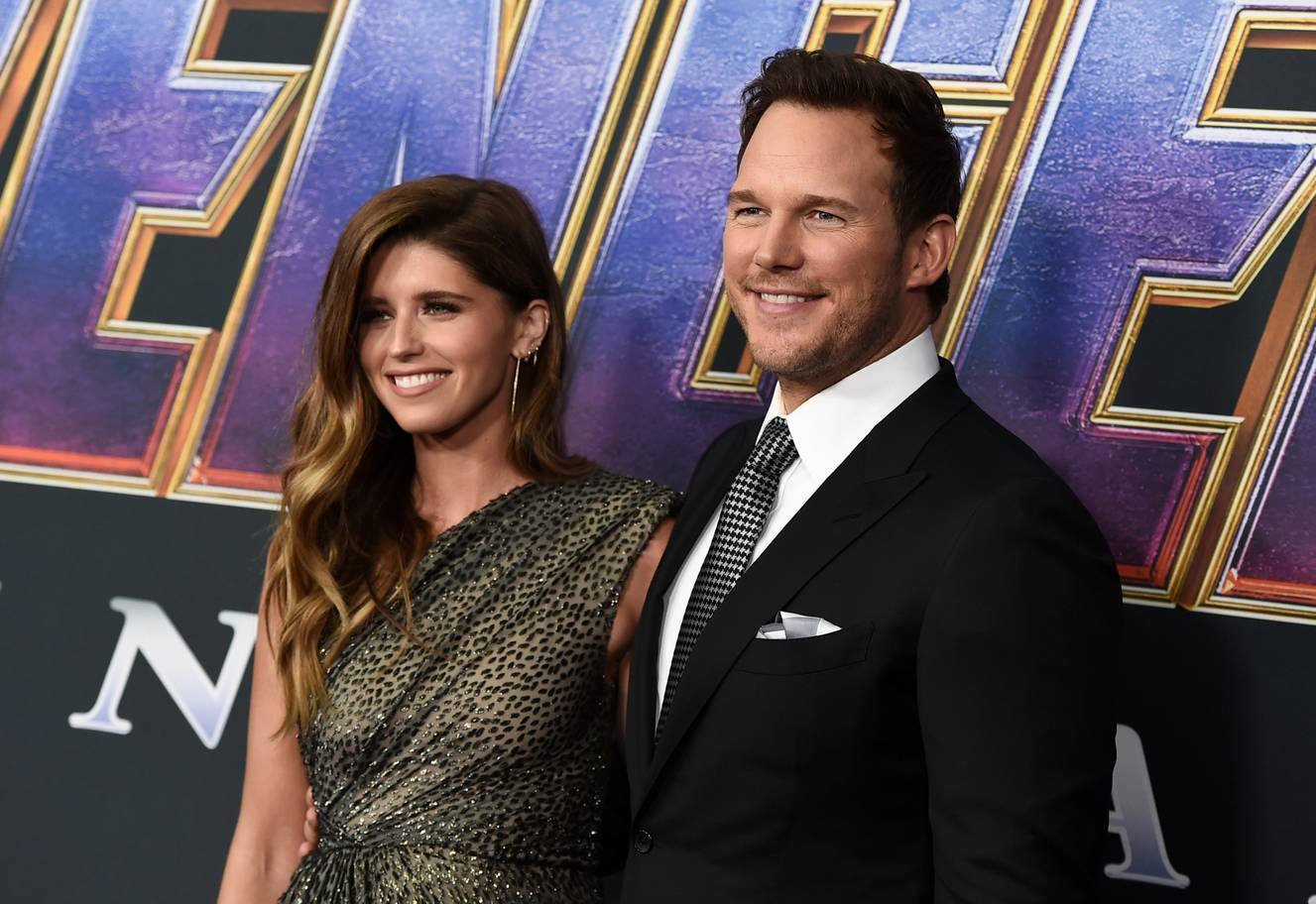 Chris Pratt at Avengers Endgame premiere
