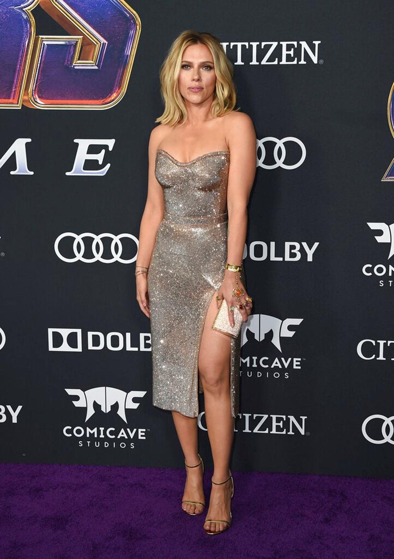 Scarlett Johansson at Avengers Endgame premiere