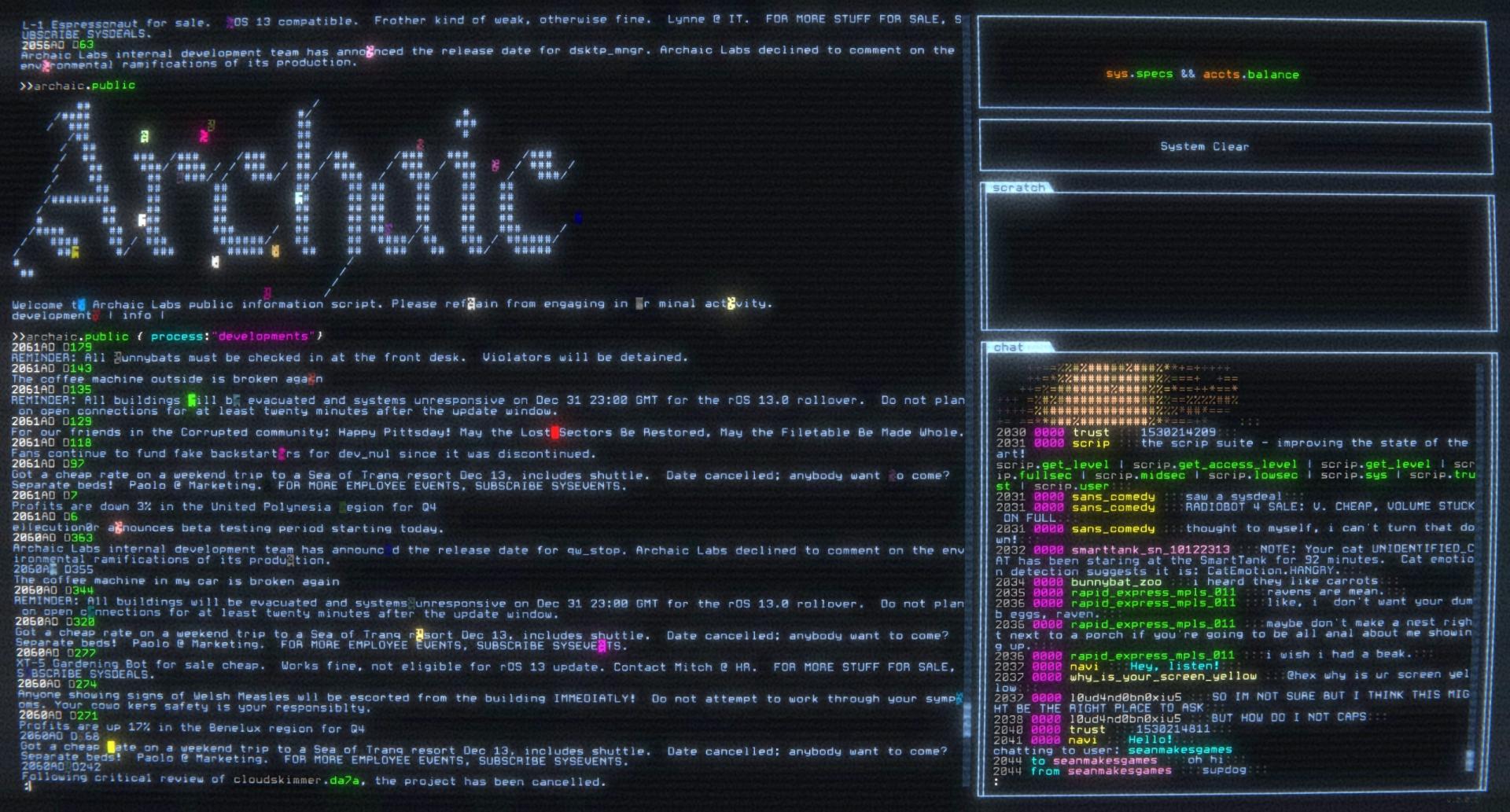 Programming Games - Hackmud