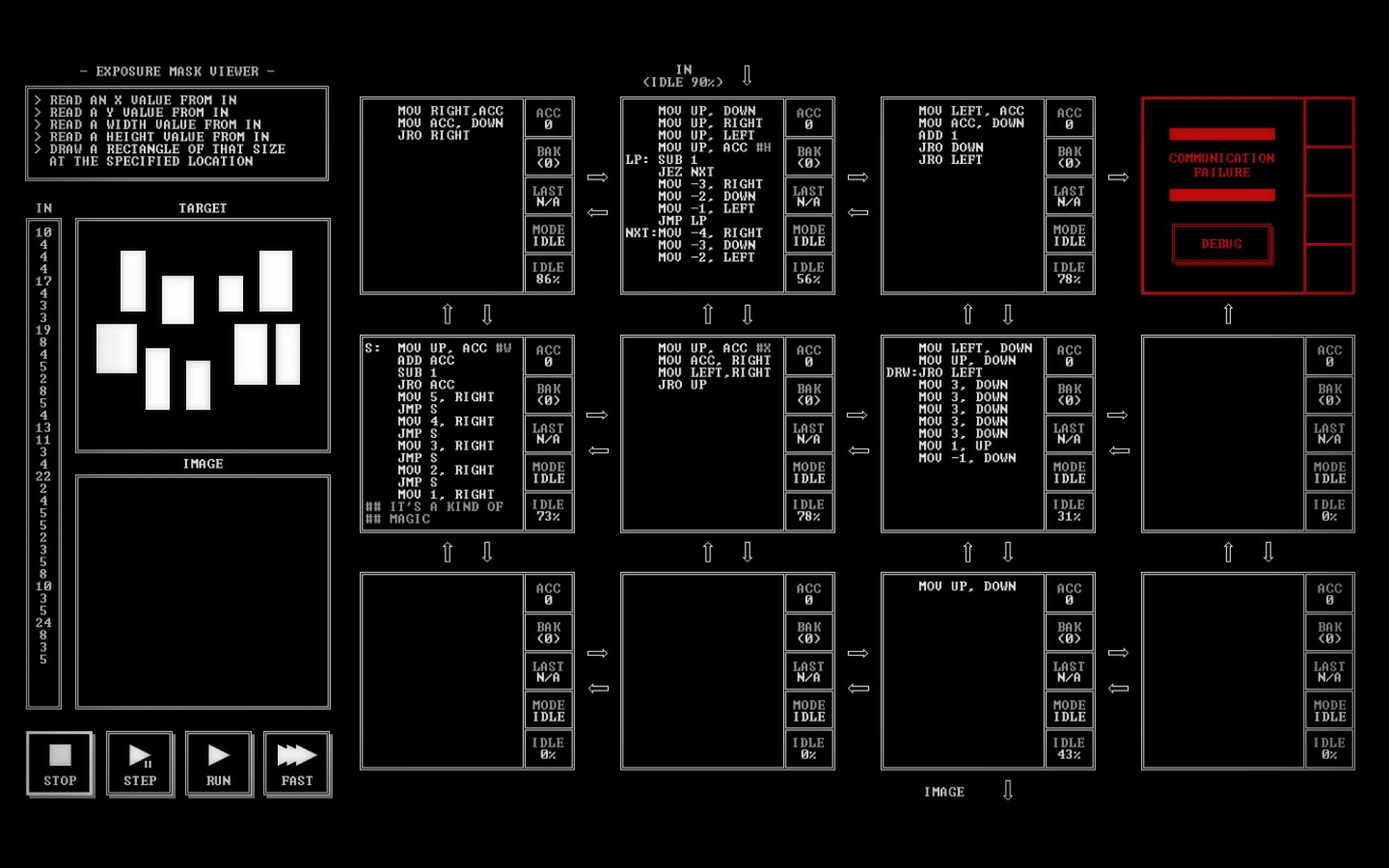 Programming Games - TIS-100