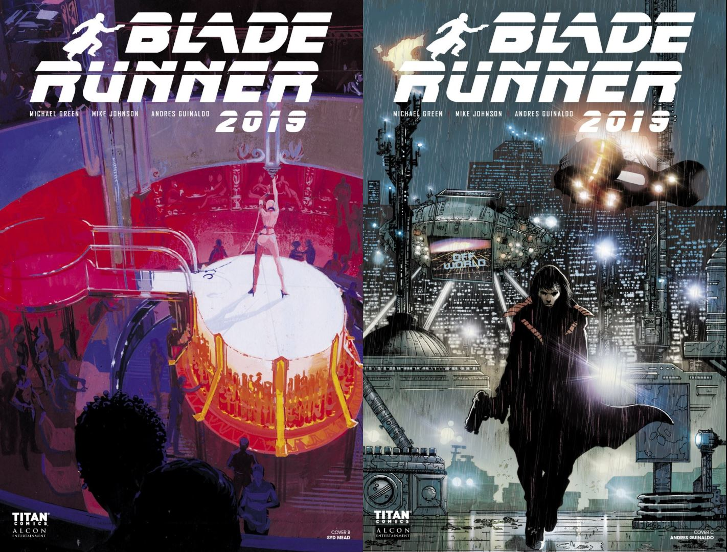 Blade Runner 2019 issue 2 screen 2