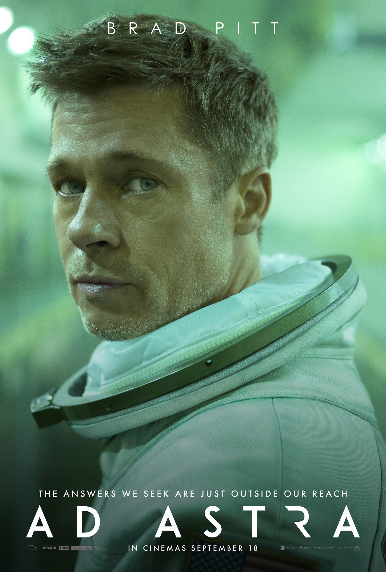 Ad Astra Review - starring Brad Pitt