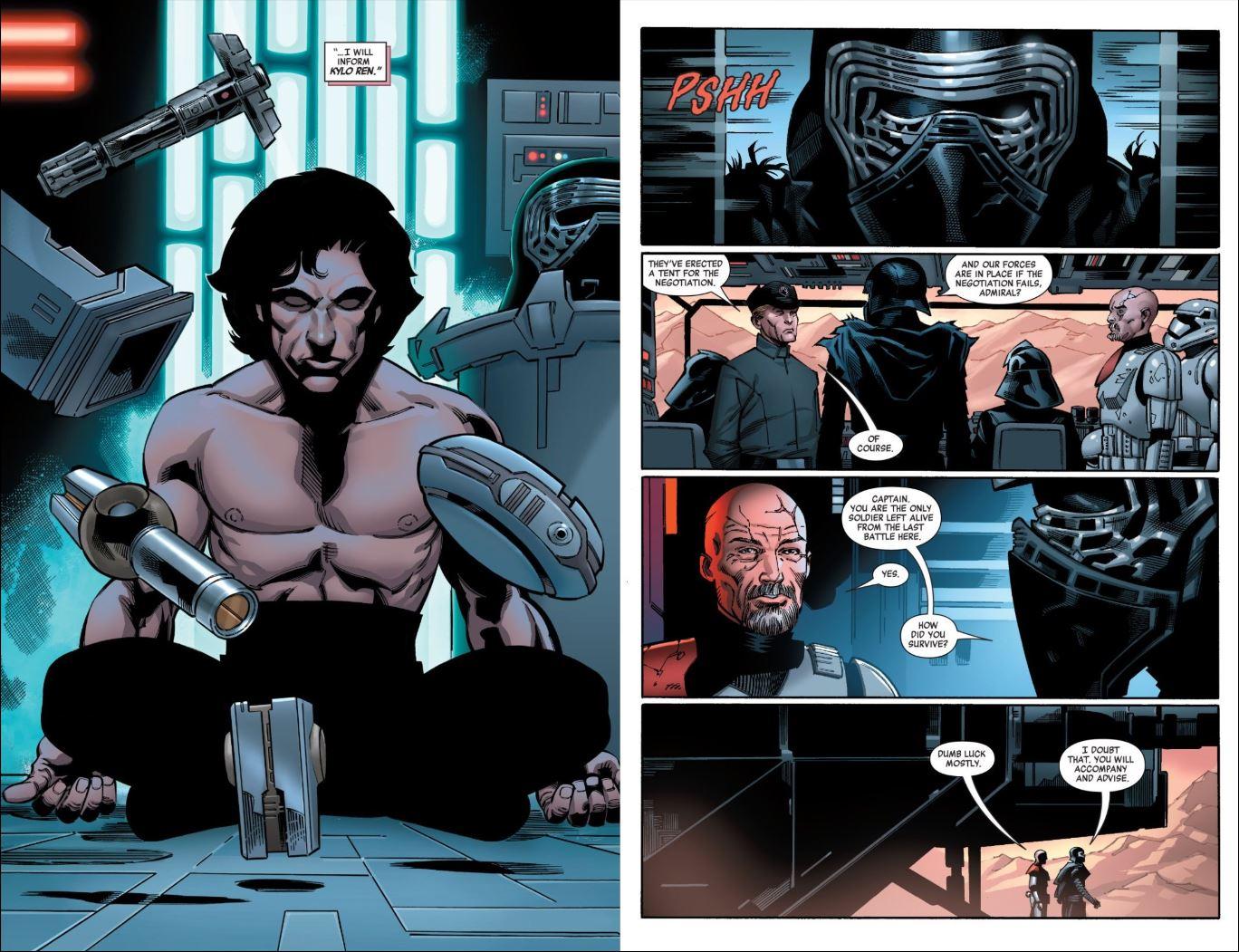 Star Wars Kylo Ren issue 1 Commander Ruthford
