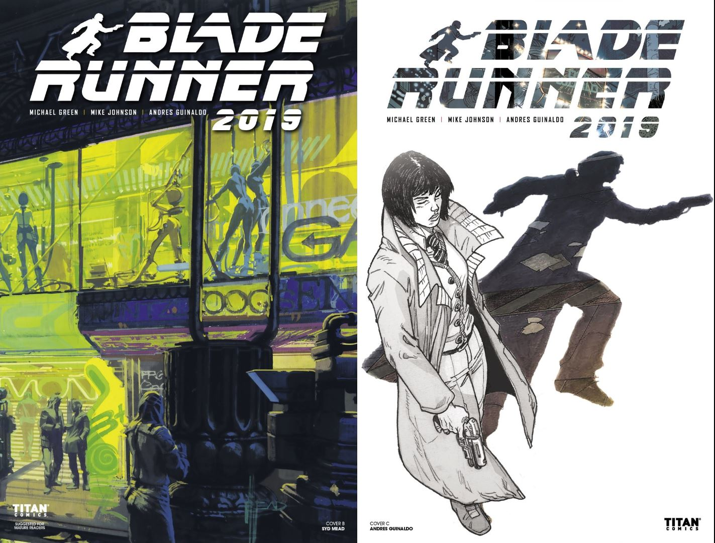 Blade Runner 2019 # 4 Review - covers by Titan comics