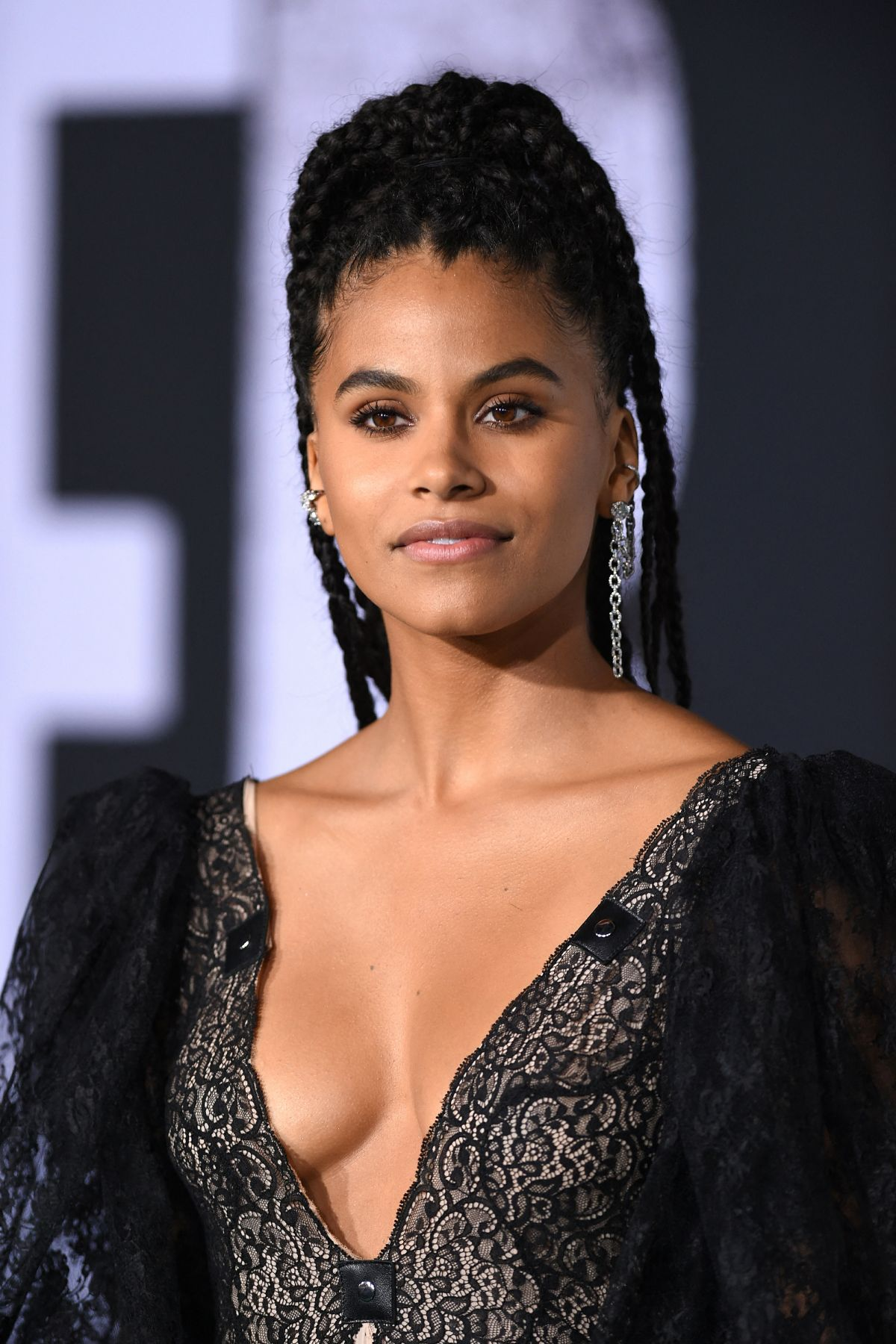 Joker Review - Zazie Beetz at the premiere