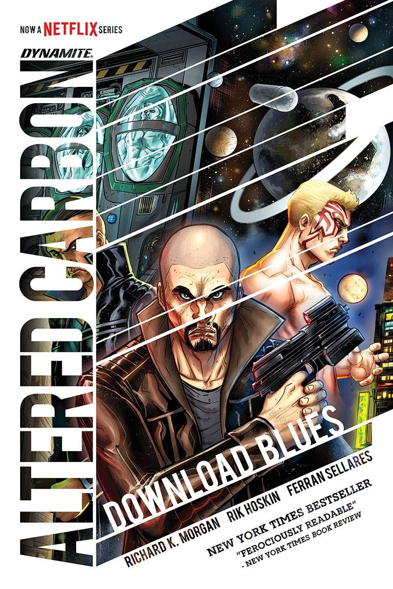 Altered Carbon Download Blues cover with Richard K. Morgan