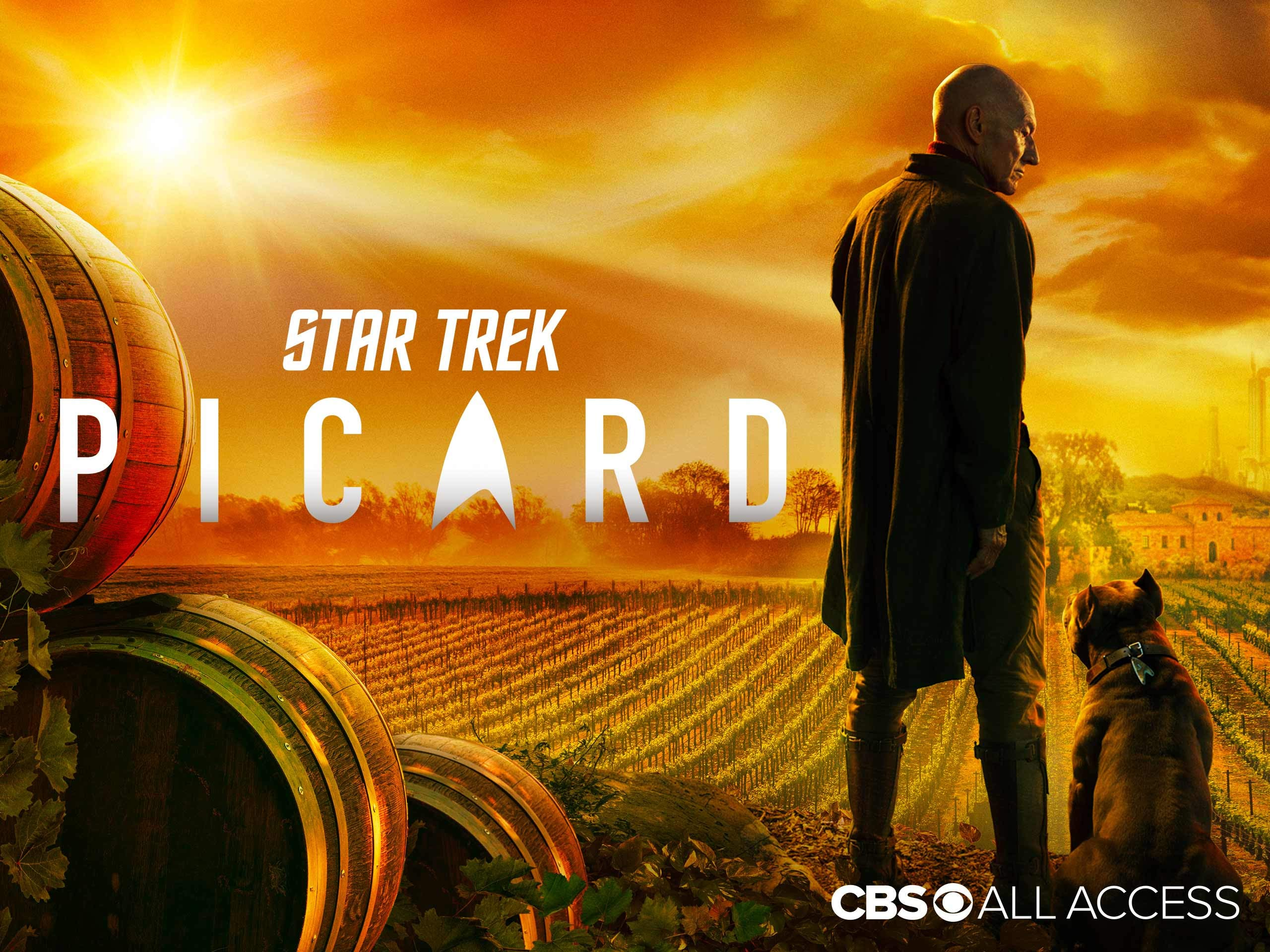 Star Trek Picard Preview CBS wallpaper