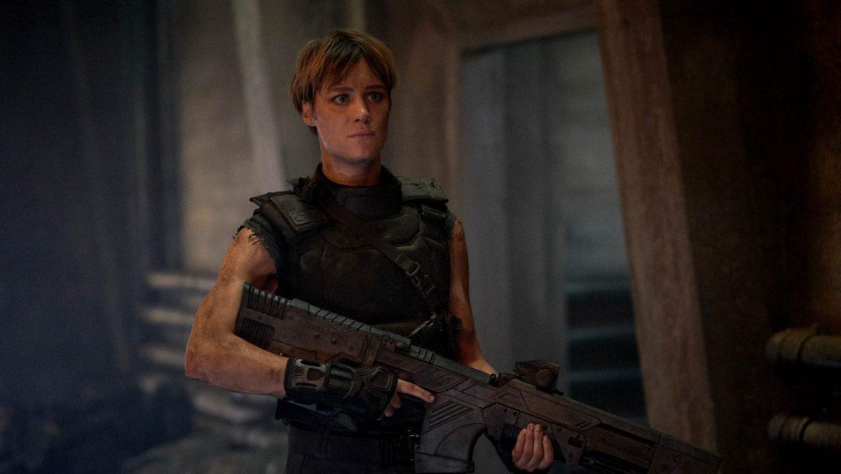 Terminator Dark Fate Review - Grace played by Mackenzie Davis