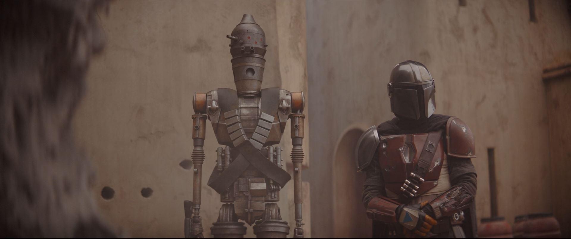 The Mandalorian - IG-11 voiced by Taika Waititi
