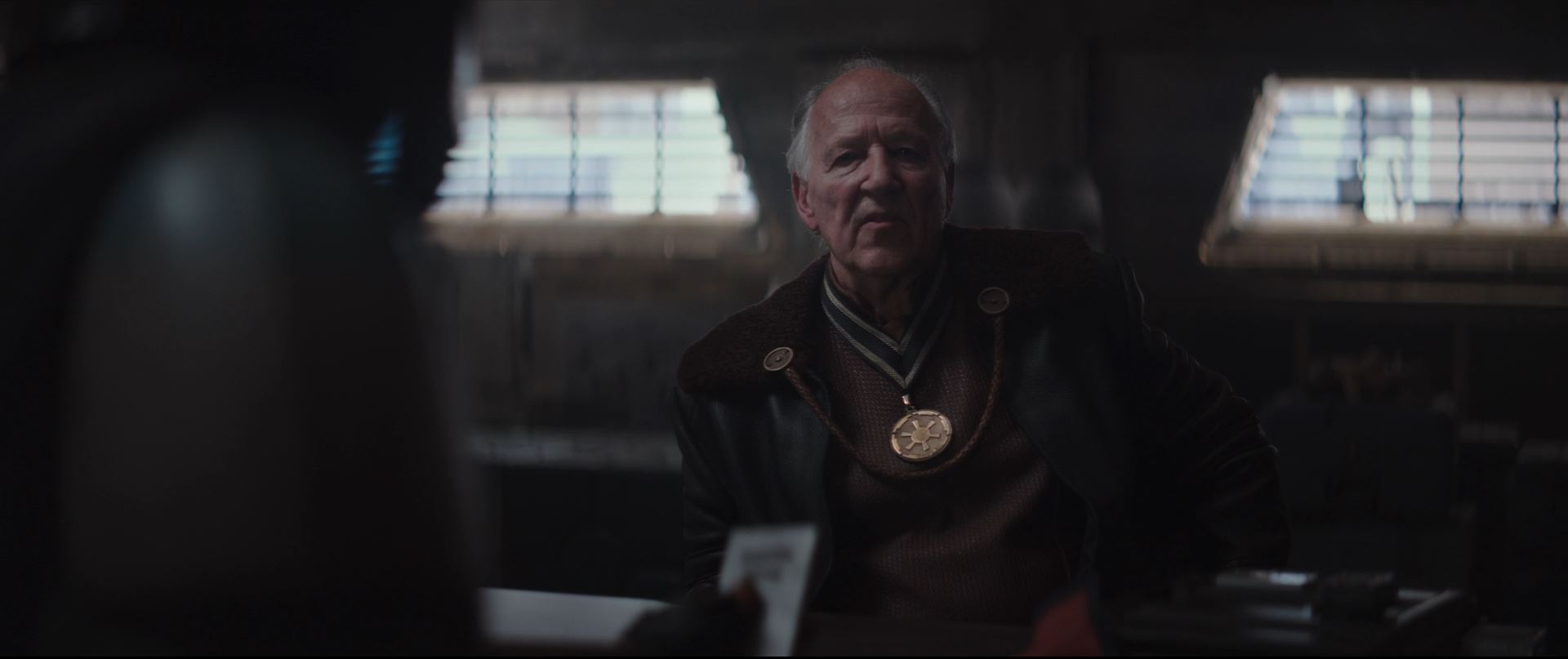 The Mandalorian - Werner Herzog as The Client