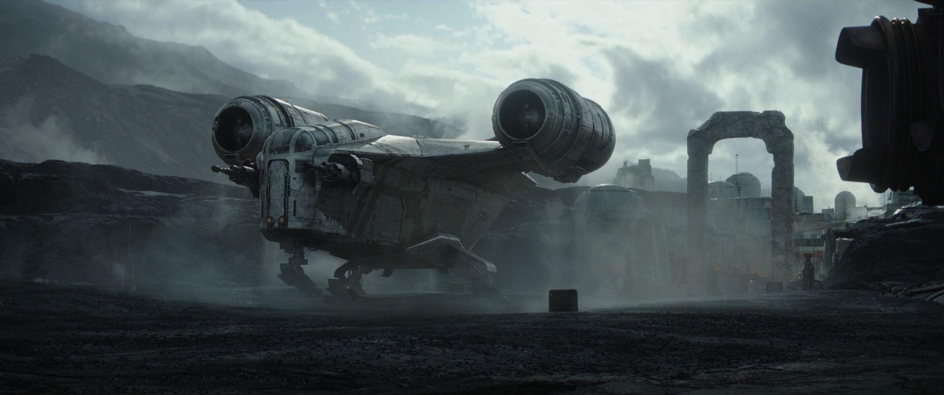 The Mandalorian - the ship of a bounty hunter