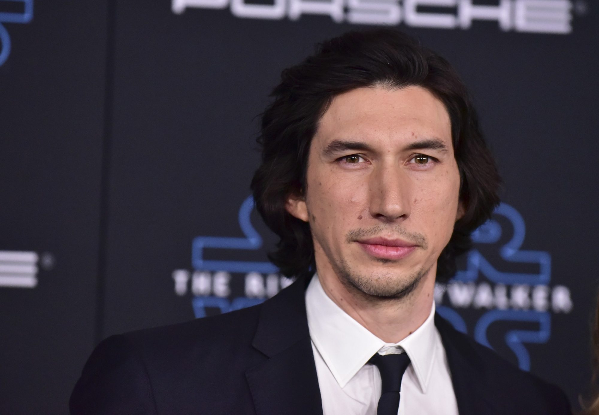 Adam Driver at the premiere for The Rise of Skywalker