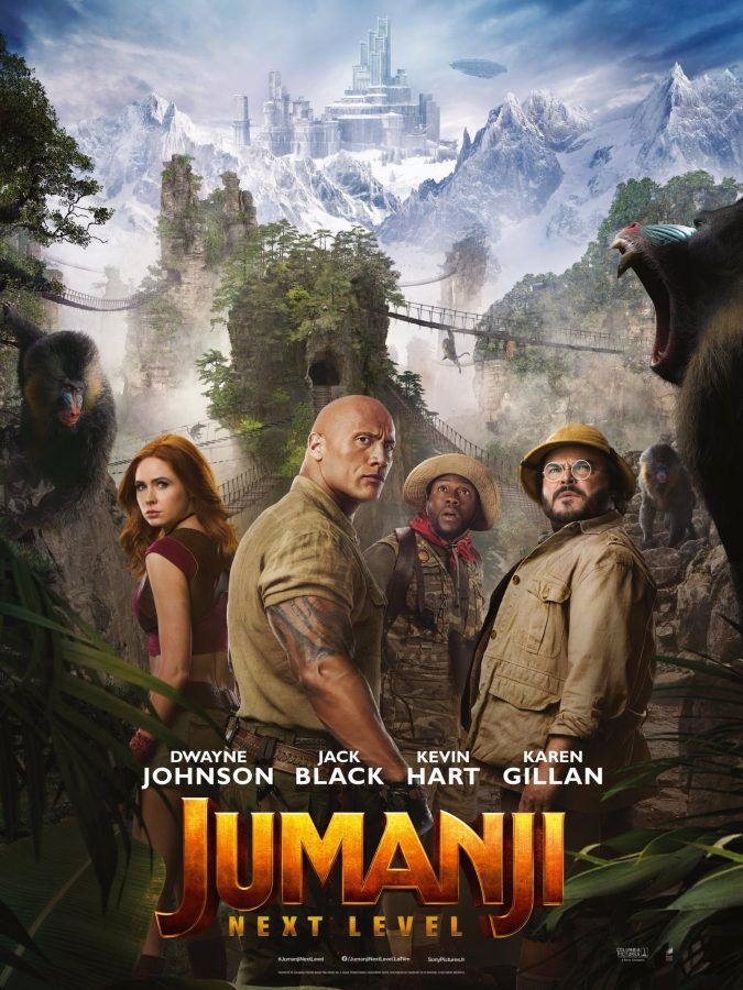 Jumanji The Next Level Movie Poster