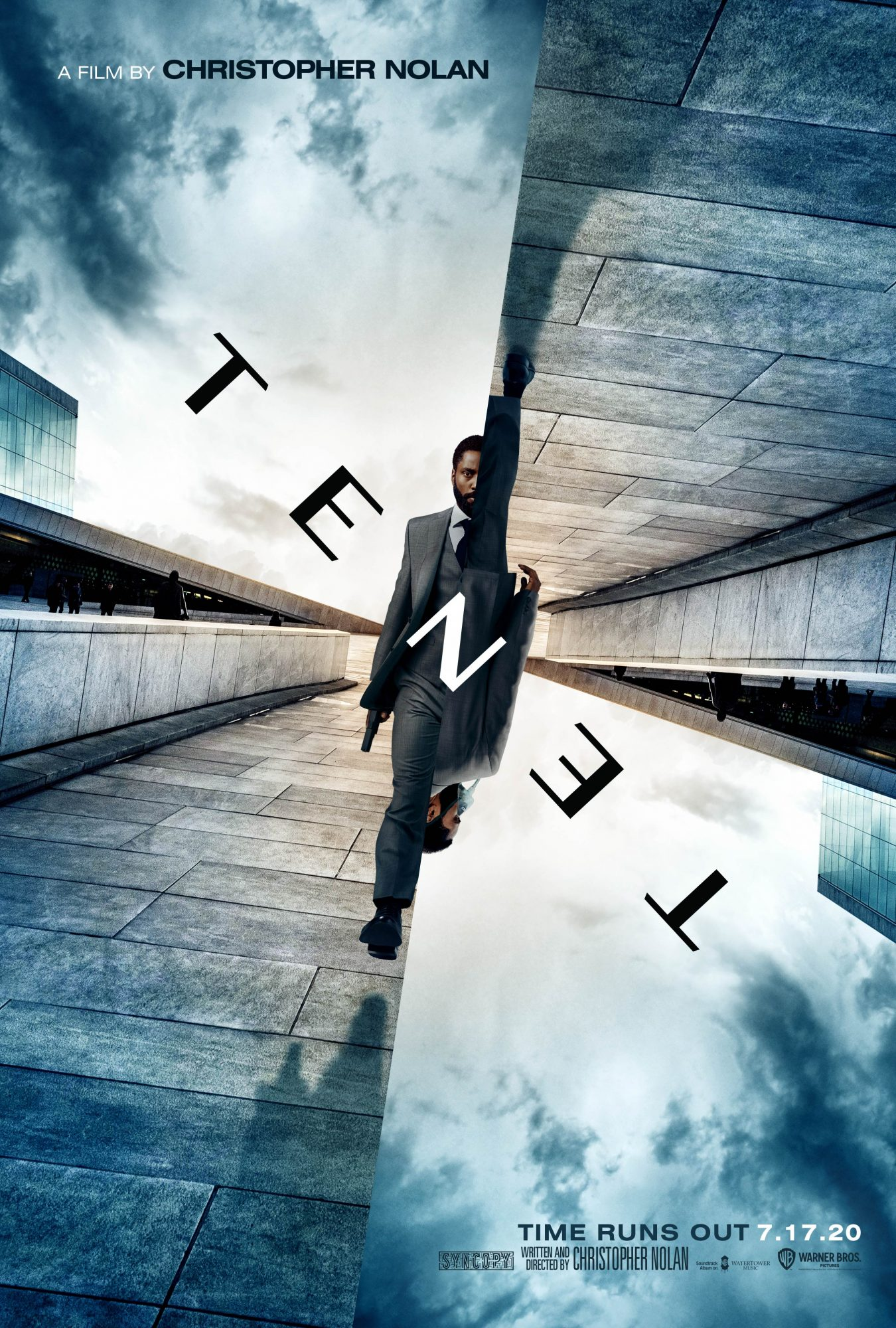 2020 Most Anticipated Sci-Fi Movies - Tenet-poster-with-John-David-Washington