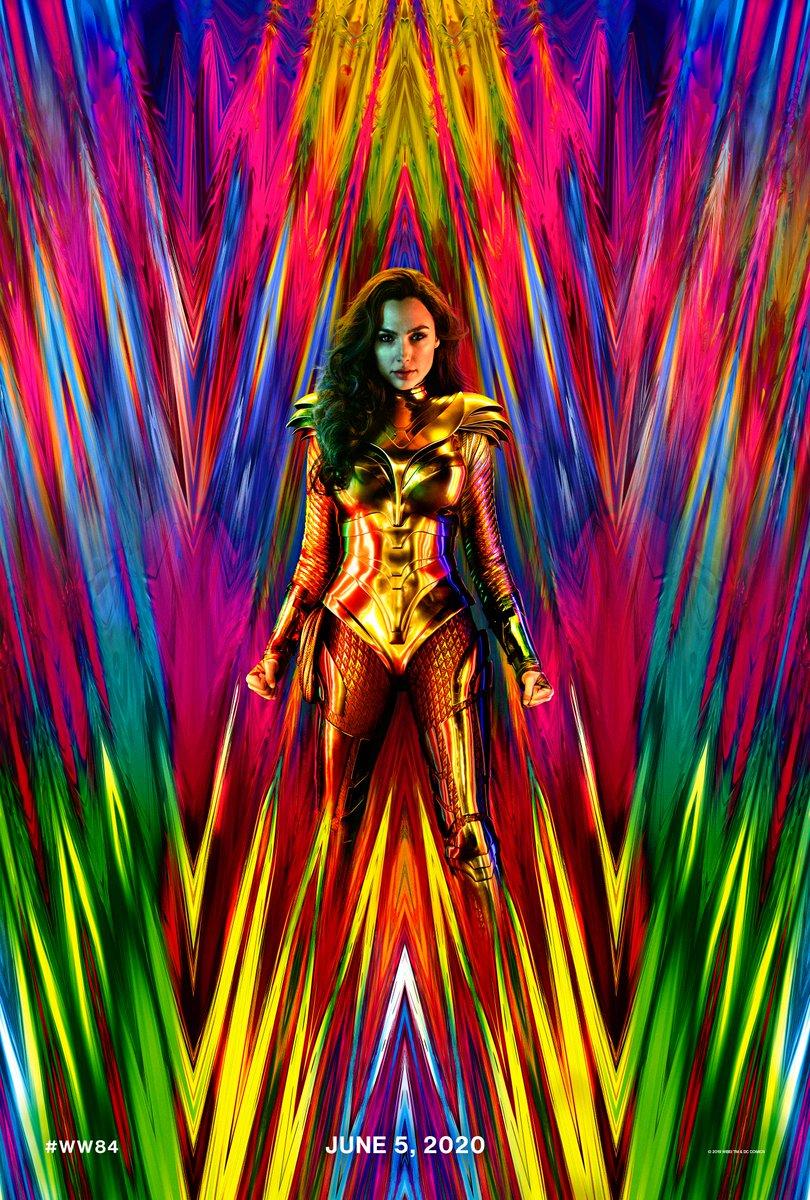- Wonder Woman 1984 poster starring Gal Gadot