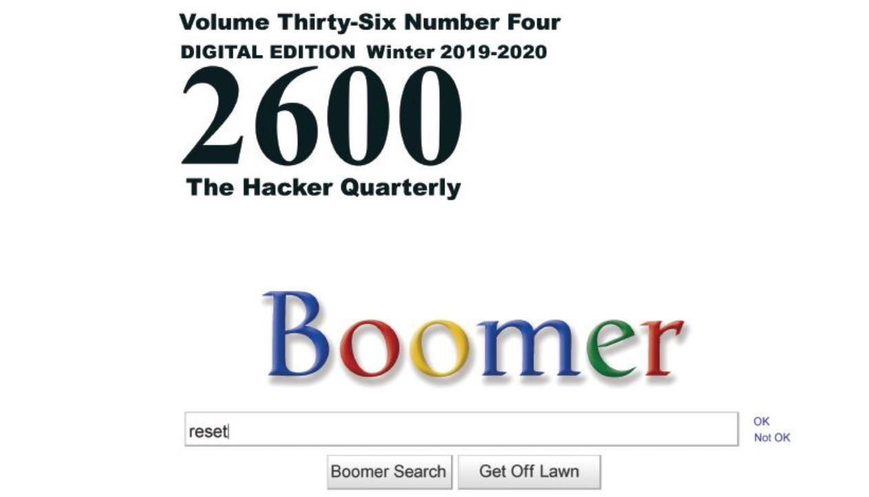 2600 The Hacker Quarterly Winter 2020 cover small