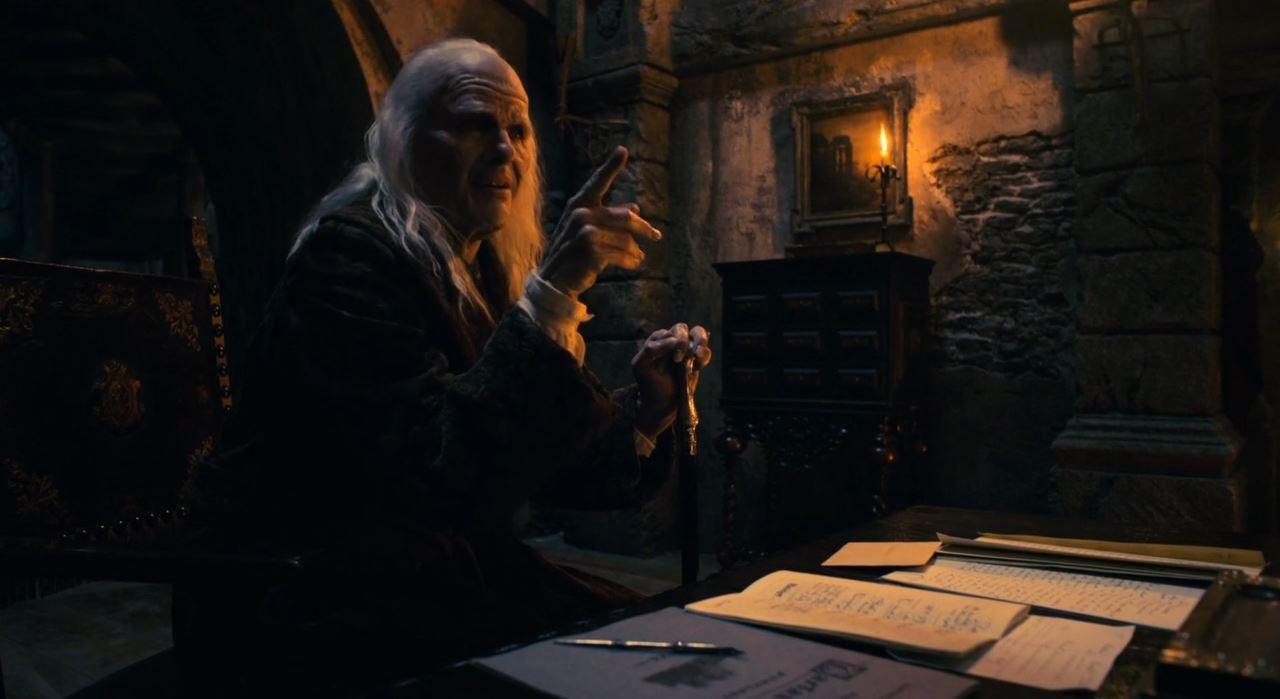 BBC Dracula - An old count Dracula