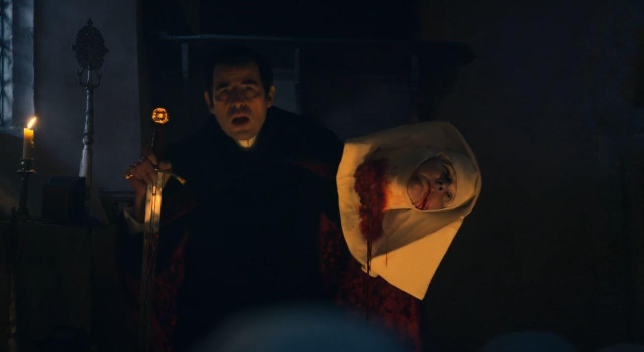 BBC Dracula - Nun decapitated
