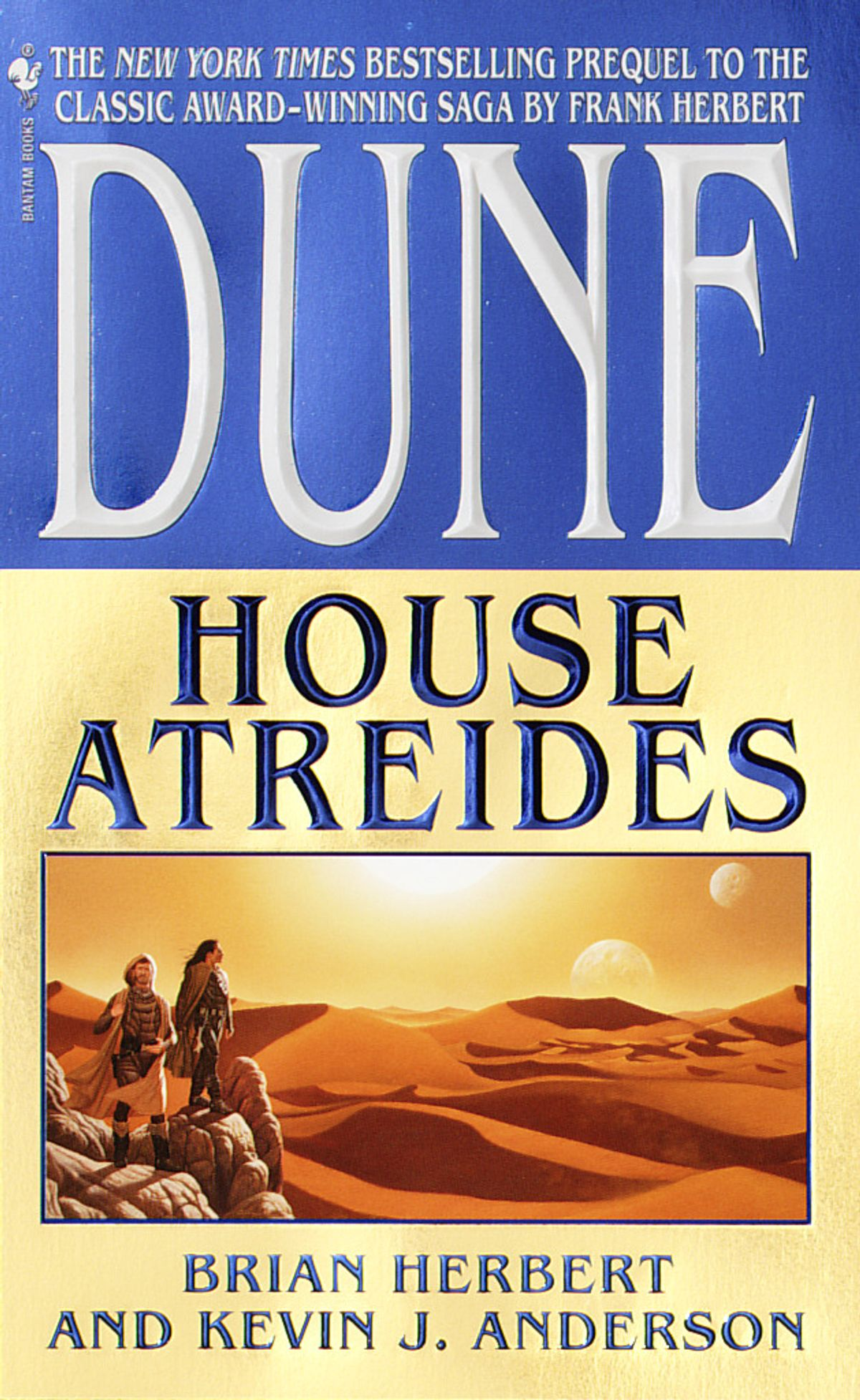 Dune House Atreides cover - Brian Herbert and Kevin J. Anderson
