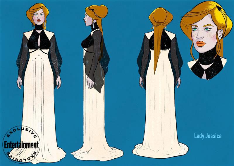 Dune graphic novel - Lady Jessica