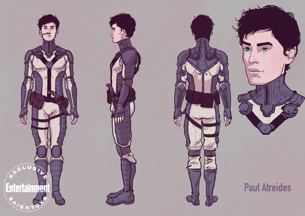 Dune graphic novel - Paul Atreides