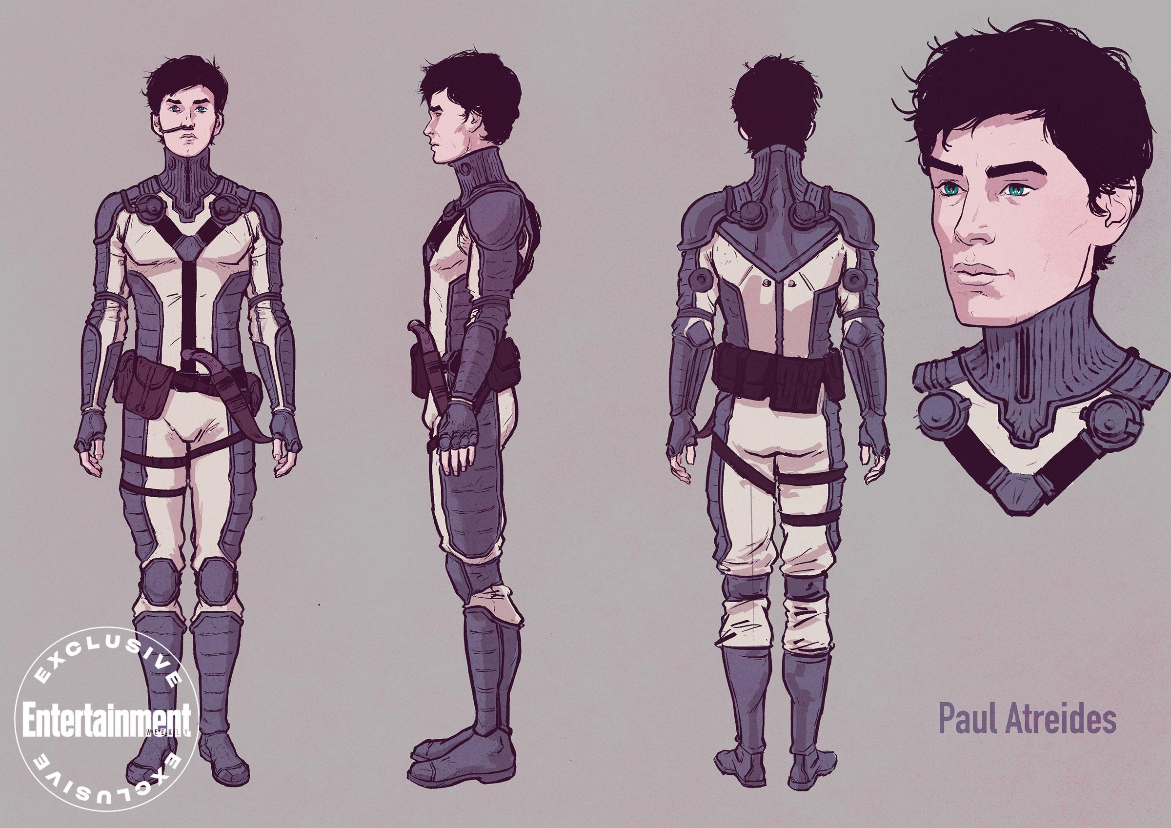 Dune graphic novel - Paul Atreides
