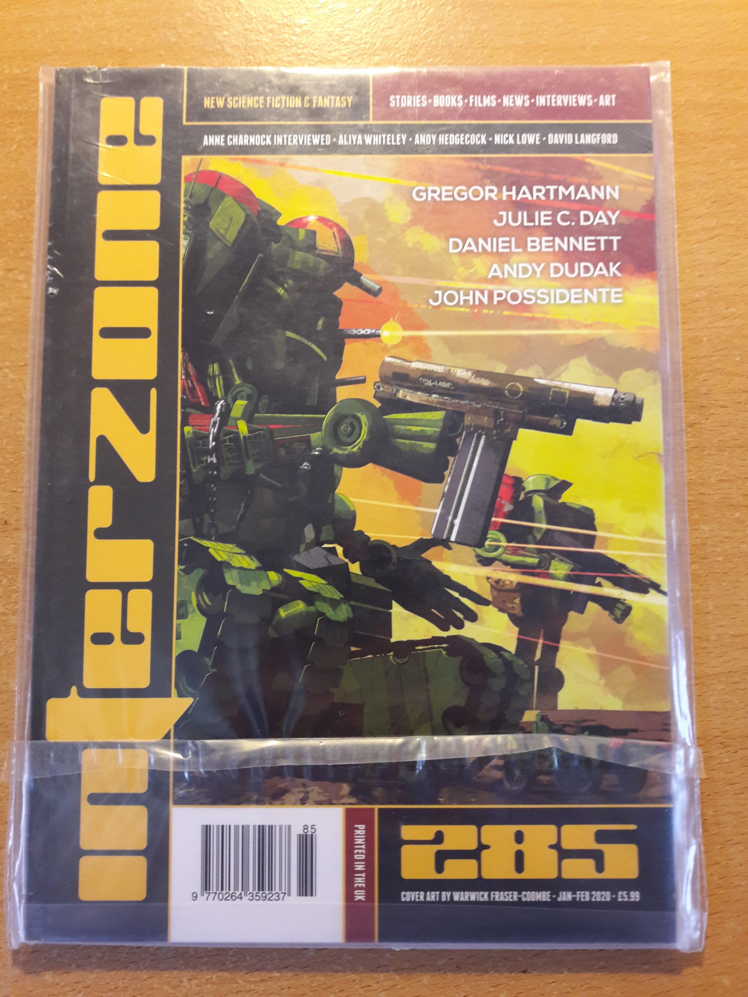 Interzone issue 285